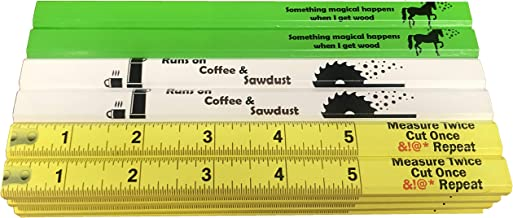 RevMark Carpenter Pencil 24 Pack with Funny Novelty Sayings, Made in The USA. Cedar Wood for Carpenters, Construction Work...