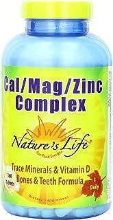 Nature's Life Cal/Mag/Zinc Tablets, 1000/600/15 Mg | 360 Count
