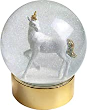 Talking Tables Talking Tables Snow Globe | Unicorn Gifts | Unicorn Room Décor | Glitter Snow Globe | Unicorn | Great for G...