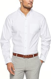 SQDAthletica Men SQD Oxford Shirt, White