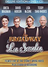 Greta Bradman, David Hobson, Lisa McCune, Teddy Tahu Rhodes: From Broadway to La Scala (CD/DVD) (Deluxe Edition)