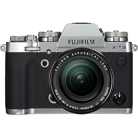 FUJIFILM ミラーレス一眼カメラ X-T3レンズキット シルバー X-T3LK-S
