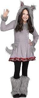 Fun World Wolf Cub Girls Halloween Costume