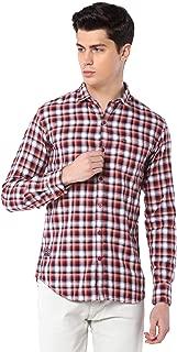 Men Cotton Casual Checkered Shirt