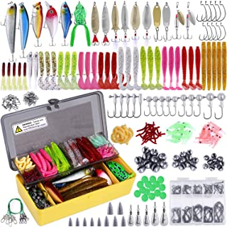 PLUSINNO Fishing Lures Baits Tackle Including Crankbaits,...