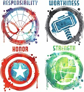 RoomMates Marvel Icons Peel And Stick Wall Decals - RMK3583SCS