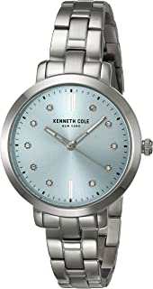 Kenneth Cole New York Women's Quartz Watch With Black Dial Analogue Display Quartz Stainless Steel Kc15173004