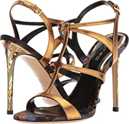 Etro - Metallic Strappy Heel