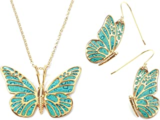 Best butterfly jewelry set Reviews