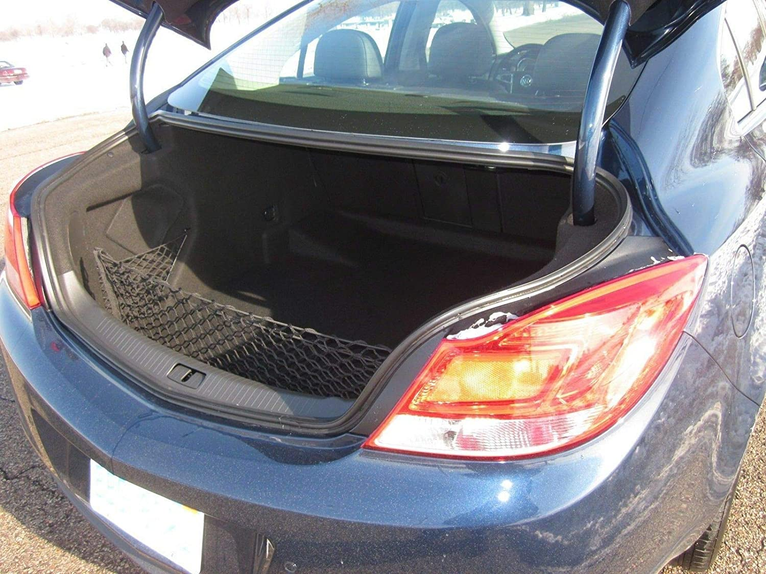 Stretchable Max 54% OFF Envelope Style Trunk Cargo Net Buick Regal Topics on TV 2011- for