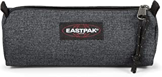 Eastpak Benchmark Single Astuccio, 21 Cm, Grigio (Black Denim)