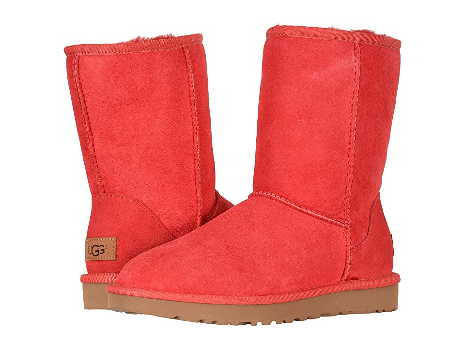 UGG Classic Short II (Ribbon Red) Women