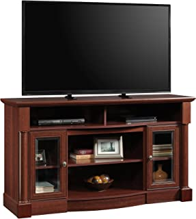 Sauder Palladia Entertainment/Fireplace Credenza, For TV's up to 60