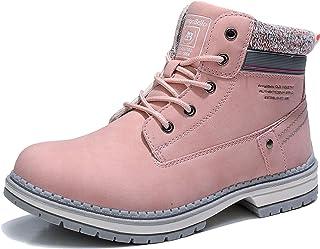 ARRIGO BELLO Botas Mujer Botines Zapatos Invierno Botas de Nieve Cálido Fur Forro Aire Libre Boots Urbano Fiesta Oficina C...