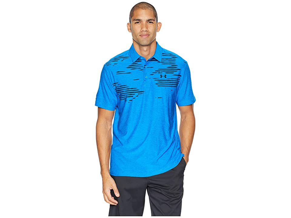 Under Armour Golf UA Playoff Polo (Blue Circuit/Blue Circuit) Men