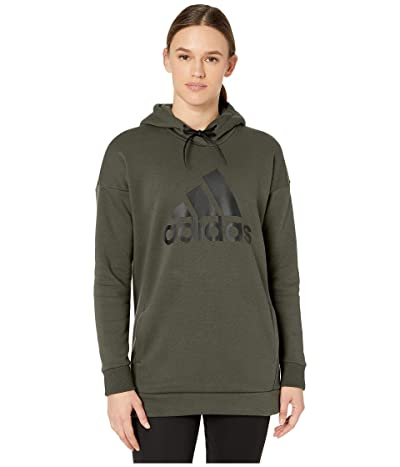 adidas Must Have Badge of Sport Hoodie (Legend Earth) Women