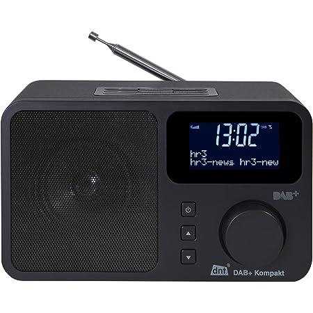 Dnt Dab Kompakt Digital Radio Mit Dab Dab Und Fm Radioempfang Heimkino Tv Video