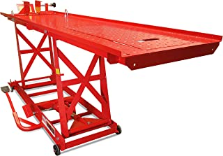 Titan Ramps 1,000 lb Hydraulic Motorcycle Lift Table Extra Long Heavy Duty