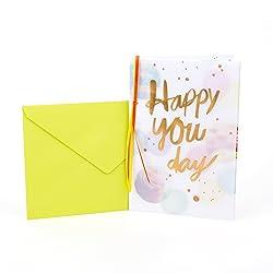 Hallmark Birthday Card (Happy You Day)