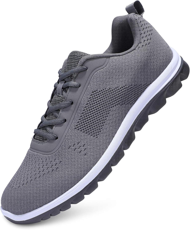 UUBARIS Kansas City Mall Men's Walking Shoes Non Li Slip Max 50% OFF Breathable Running