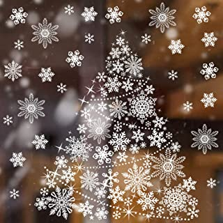 Best christmas tree window cling Reviews