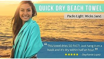 Youphoria Yoga Towel (24 x 72) - Ultra Soft, Sweat Absorbent, Non Slip Bikram Hot Yoga Towels - Perfect For Hot Yoga,...