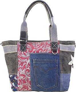 Sunsa Handtasche Damen Tasche Shopper Schultertasche Tote große Handgelenktasche Henkeltasche Damentasche Canvastasche Wee...