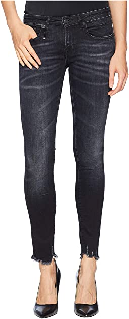 Kate Skinny with Uneven Hem