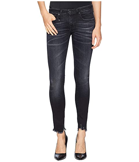 R13 Kate Skinny with Uneven Hem