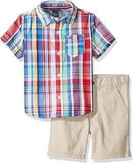Boys' Toddler 2 Pieces Shirt Shorts Set
