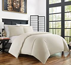 Zen Bamboo Ultra Soft 3-Piece Bamboo Derived Rayon Duvet Cover Set - Hypoallergenic and Wrinkle Resistant - King/Cal King ...