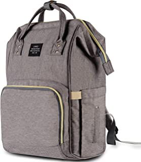 fashionable diaper bag backpack