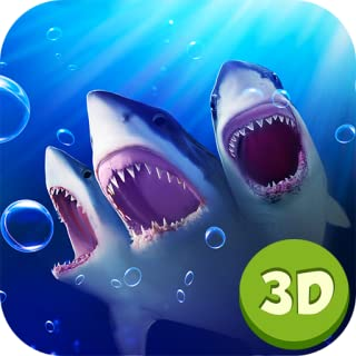Three Headed Mutant Shark - Monster Attack Survival Simulation Game