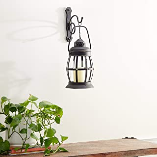 Deco 79 55477 Metal & Glass Wall Sconce