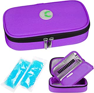 YOUSHARES Insulin Cooler Travel Case – Medication Diabetic Insulated Organizer..