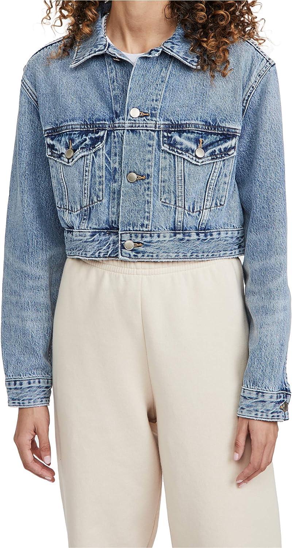 Good American Women's Crop Jacket