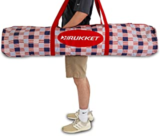 Rukket Equipment Bag Pro   Large Sport Duffle Bag for Baseball Basketball Softball & Golf Nets   Heavy Duty Padded Bag for Teams & Coaches