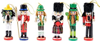 Clever Creations Traditional Wooden Nutcracker - Christmas Decoration Perfect for Any Collection - Toy Maker - 7 Inches Tall