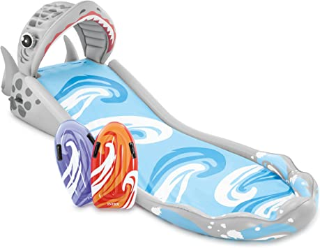 """Intex Surf 'N Slide Inflatable Play Center, 181"""" X 66"""" X 62"""", for Ages 6+"""
