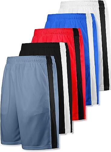 Starter Men/'s Long Nylon Shorts XL Elastic Waist Cotton Lined Rare