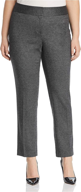 Vince Camuto Womens Herringbone Dress Pants
