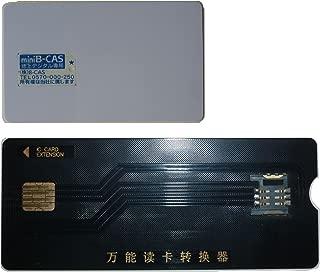 PB-MC03:mini B-CAS 変換アダプター、これ1枚で2つの機能 MINI B-CAS変換アダプターのセット