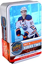 2017-18 Upper Deck Hockey Series 2 Factory Sealed 12 Pack Tin - Hockey Wax Packs