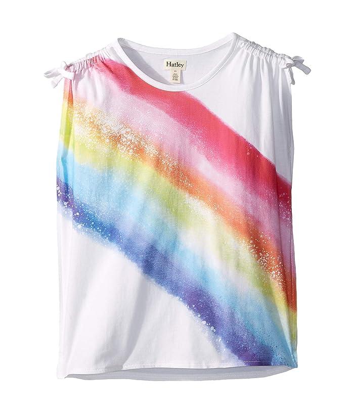 fe3f06c9676c65 Hatley Kids Rainbow Cinched Shoulder Tee (Toddler/Little Kids/Big ...