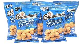 Grandma's Mini Sandwich Vanilla Creme Filled Cookies 5 Pack