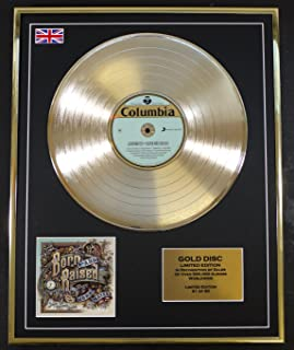 JOHN MAYER/Cd Gold Disc Record Limited Edition/BORN AND RAISED