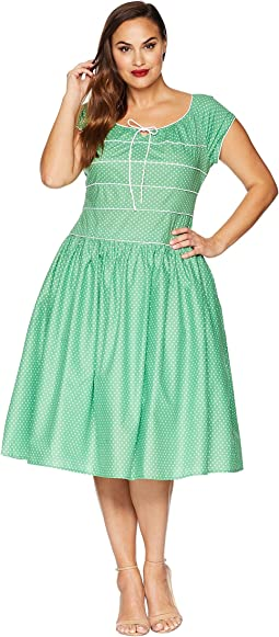Plus Size Jeanie Swing Dress