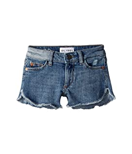 Cut Off Shorts with Dolphin Hem in Eden (Big Kids)