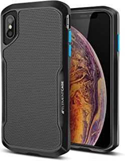 iPhone Xs Max Case, Shadow - Military Drop Tested Heavy Duty Protection Shockproof Fit Full Body Protective Cover for Element Case iPhone Xs Max Cases - Black (EMT-322-192E-01)