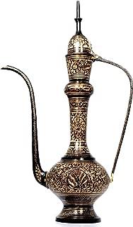 AVS STORE Decorative Indian Handicraft Antique Decoration Piece Brass Surahi Jug